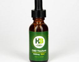 CBD Tincture – 1000mg/30ml (Organic MCT Oil)